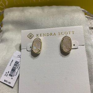 New Kendra Scott Gold Ellie Earrings